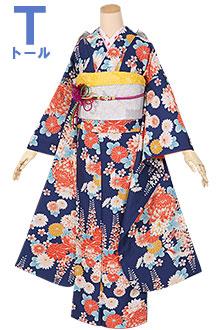 R1264 青 菊と藤の花