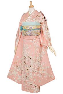 R134 【訳あり】ピンク 桜姫☆(絹)(s)