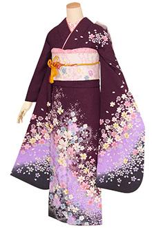 R1402 紫 桜なでしこ☆(S)(絹)