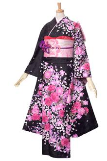 R1576 【訳あり】黒 桜づくし(R231)