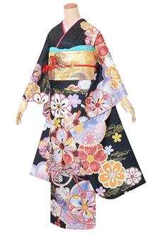R1591 【訳あり】黒 菊桜