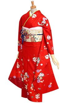 R177 【訳あり】赤 菊ブーケ☆