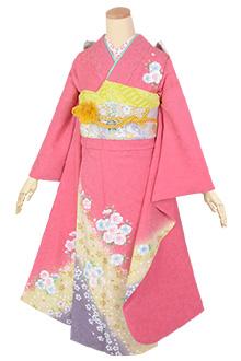 R1785 ピンク 桜花☆(絹)