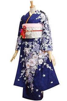 R232 紫紺 椿と花の調べ