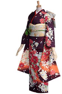 R236 濃茶紫 桜ブーケ(R359)