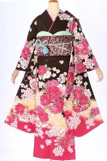 R238 黒茶 赤ぼかし 乙女桜(R1579)