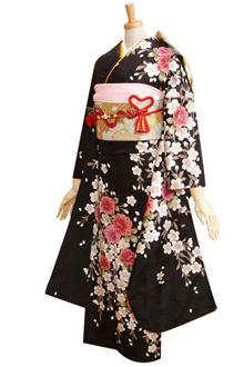 R256 【訳あり】黒 しだれ桜(R068)