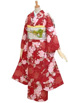 R260 赤 牡丹(ピンク系)☆