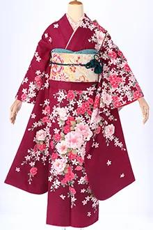 R308 紫 椿と花の調べ(R1767)