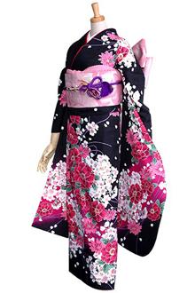 R356 【訳あり】黒 桜ブーケ(R233)