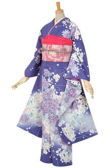 R470 紫 桜ブーケ