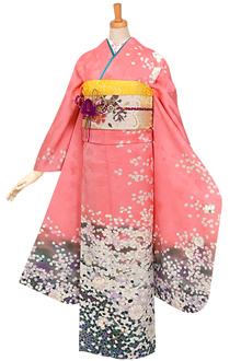 R670 ピンク 春風花吹雪☆(絹)(宅)