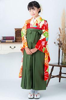 小学生袴(女の子)レンタルA224