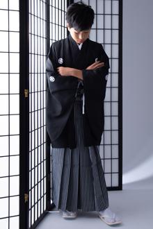 小学生袴(男の子)レンタルJY003