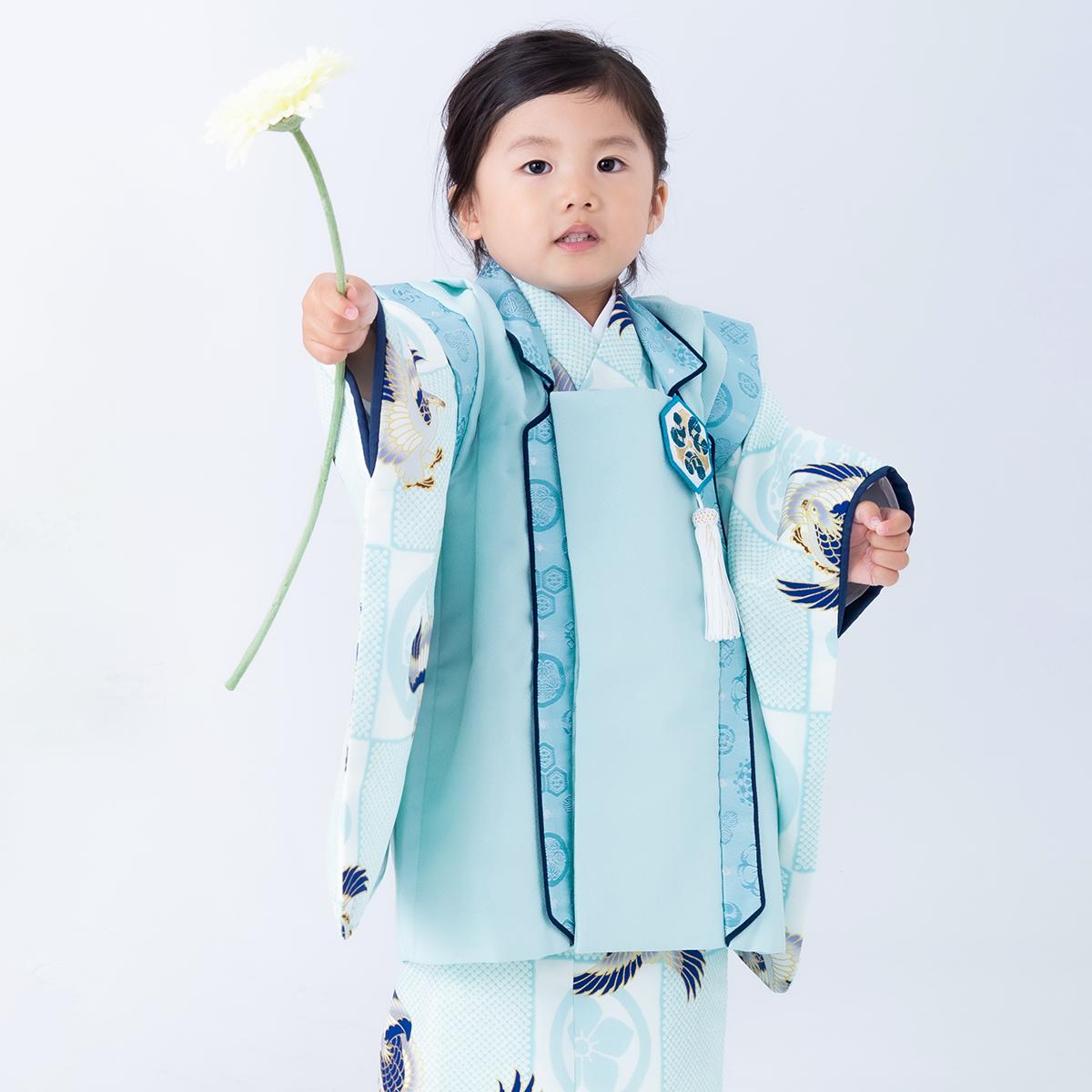 3歳男の子着物