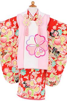 3歳女の子着物K074