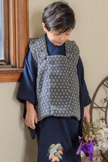 3歳男の子着物K117