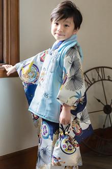 3歳男の子着物K124