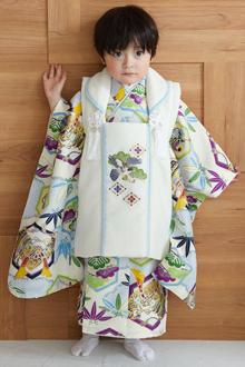 3歳男の子着物k144