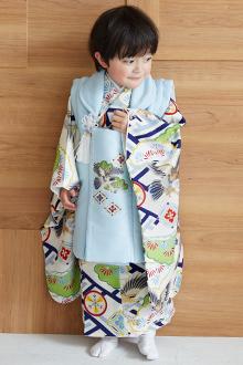 3歳男の子着物K146