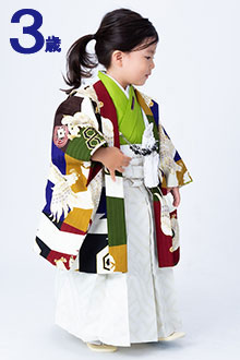 三歳男児袴BY031