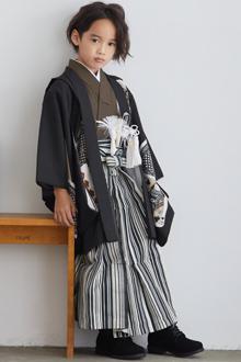 5歳男の子袴by061