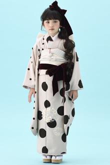 7歳女の子着物N081
