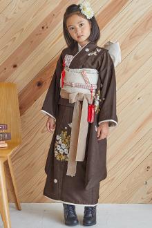 7歳女の子着物N084