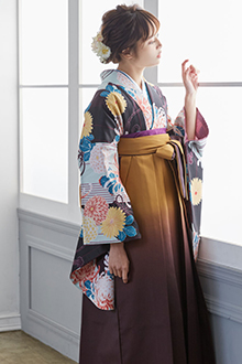 二尺袖袴G663
