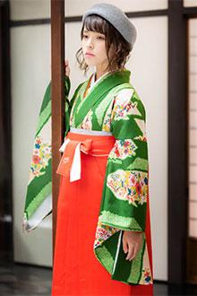 二尺袖+袴レンタルG884
