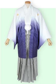 卒業式紋付袴レンタルY022