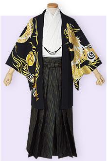 紋付袴Y023
