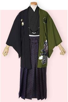 紋付袴Y025