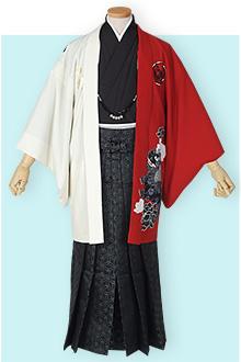 卒業式紋付袴レンタルY026
