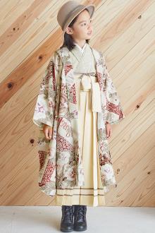 7歳女の子袴N088