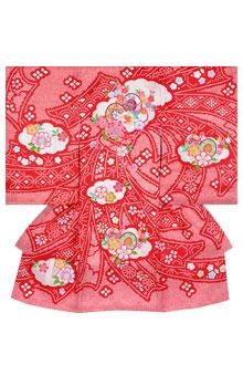 SG016 赤 刺繍束ね熨斗に鼓